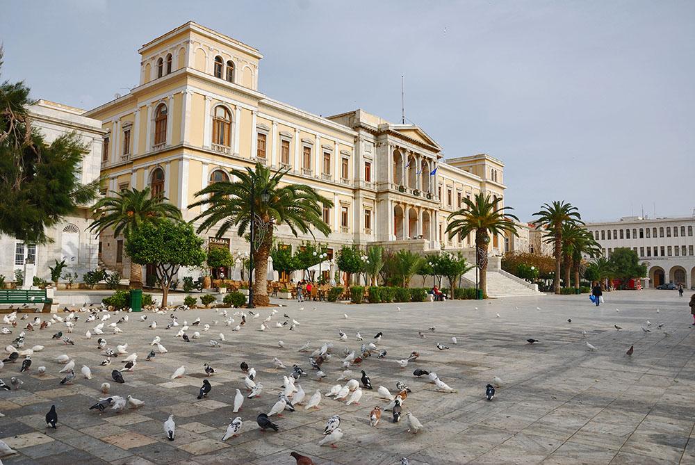 Hermoupolis Town Hall